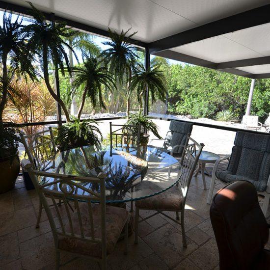CSE Properties - Crystal Palms Patio Seating Near Grill