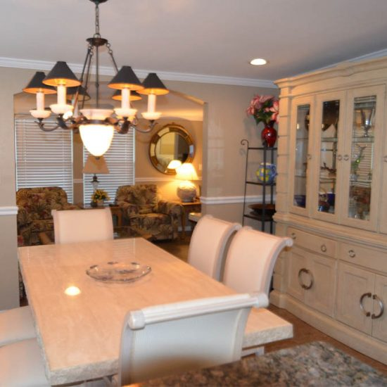 CSE Properties - Crystal Palms Dining Room