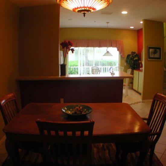Easy Getaway Dining Area | CSE Properties, Naples, FL