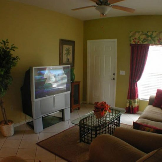 Easy Getaway Living Room | CSE Properties, Naples, FL