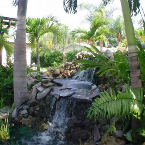 Endless Summer Waterfall | CSE Properties, Naples, FL
