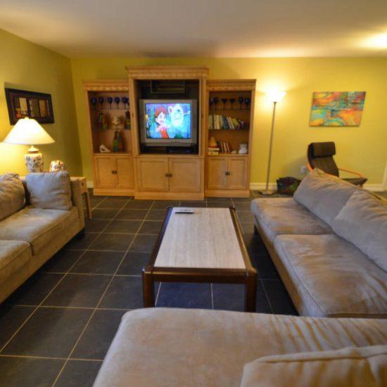 The Great Escape Living Room | CSE Properties, Naples, FL