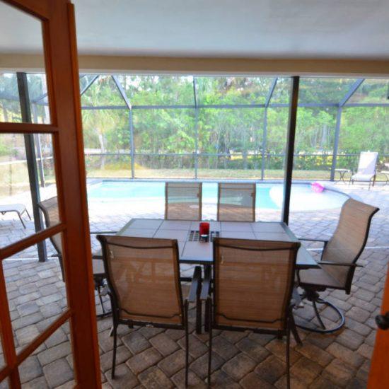 The Great Escape Lanai French Doors | CSE Properties, Naples, FL