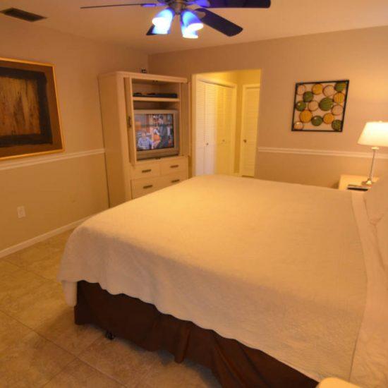 The Great Escape Lanai Bedroom 2 | CSE Properties, Naples, FL