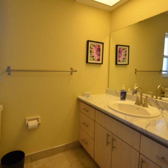 The Great Escape Lanai Bathroom 2 | CSE Properties, Naples, FL