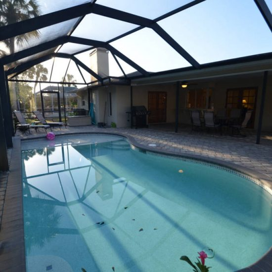 The Great Escape Screened Pool | CSE Properties, Naples, FL