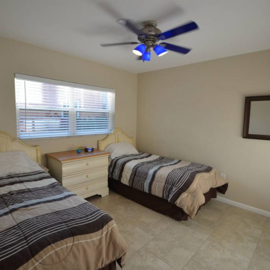 The Great Escape Bedroom with Double Bed | CSE Properties, Naples, FL