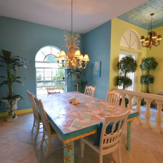 CSE Properties - Natalya's Tropical Estate Paradise Dining Room