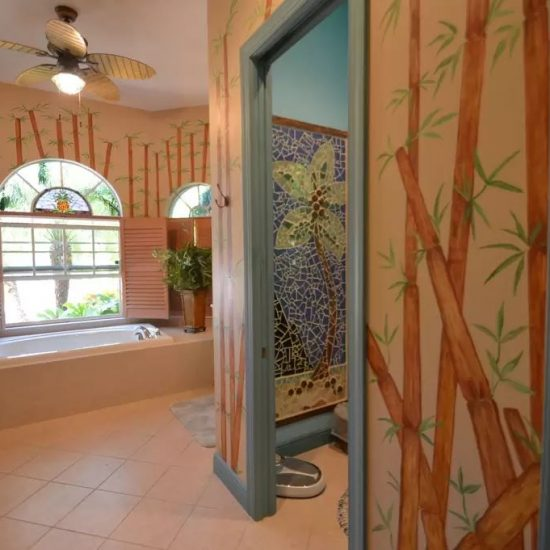 CSE Properties - Natalya's Tropical Estate Paradise Master Bathroom