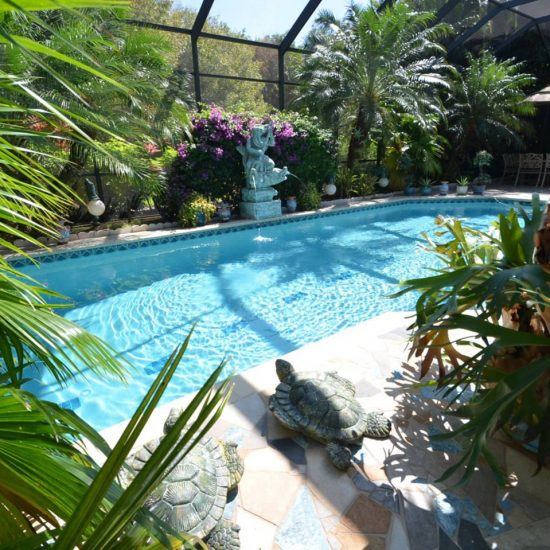 CSE Properties - Natalya's Tropical Estate Paradise Backyard Pool