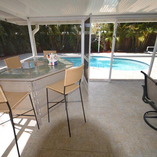 The Pelican Nest Screened Lanai | CSE Properties, Naples, FL