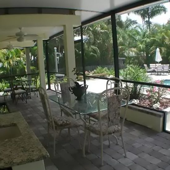 Rainbow's End Patio | CSE Properties, Naples, FL