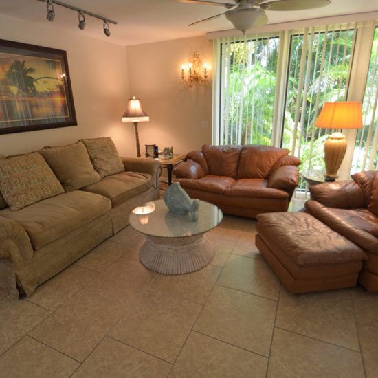 Rainbow's End Living Area | CSE Properties, Naples, FL