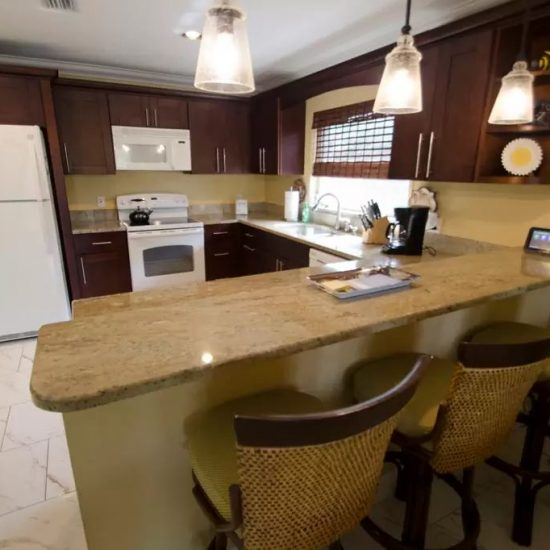 CSE Properties - Sundance Granite Counters with Snack Bar