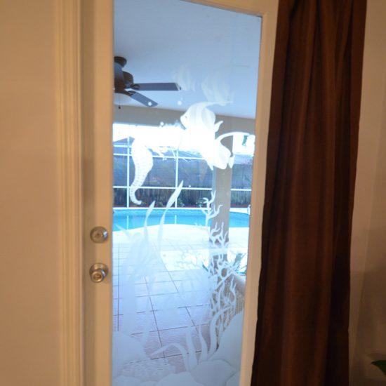 CSE Properties - Vanderbilt Vacation Villa Bedroom 2 Pool Entry Door