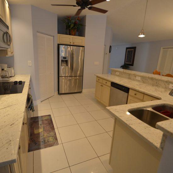 CSE Properties - Vanderbilt Vacation Villa Kitchen to Entrance