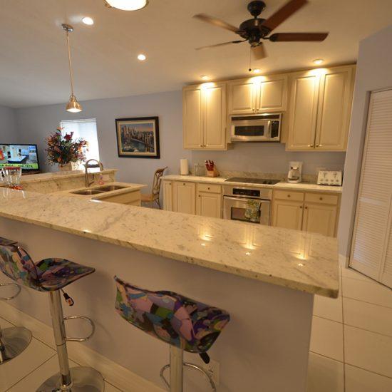 CSE Properties - Vanderbilt Vacation Villa Open Kitchen and Living Room